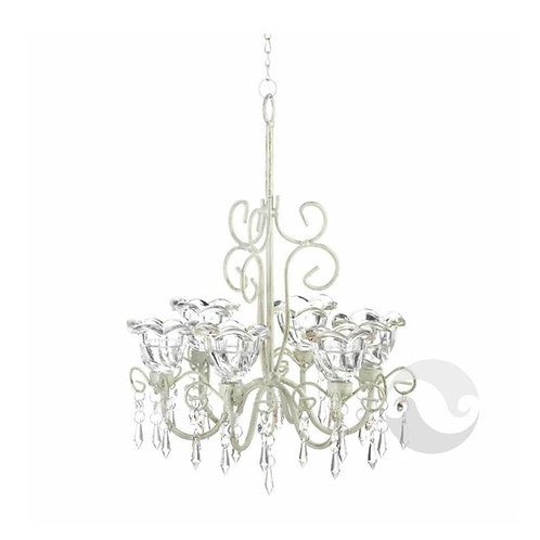 Crystal Candle Chandelier Hire