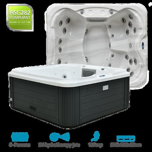 SPATEC 5 Person Hot Tub Hire UK - Minimum 28 Day Hire