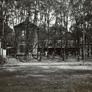 1912 Het Tolhuis tussen de bomen