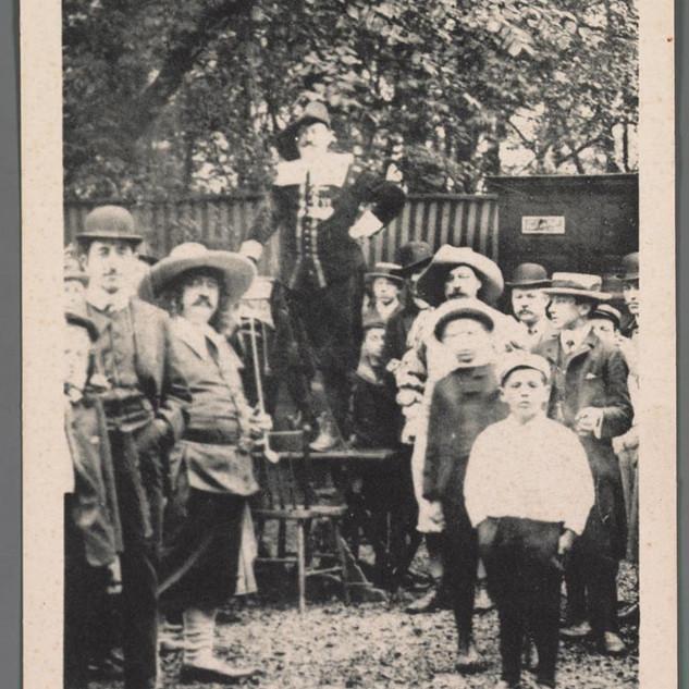 1907 Markt bij het Tolhuis