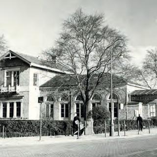 Het Tolhuis-complex in 1950