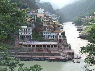 מפגש הנהרות, האלאקנדה והבהאגירטי, ראשיתו של הגנגס