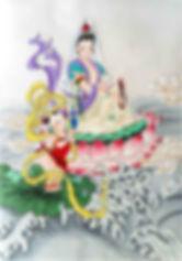 דמותה של גואן יין, הבודהא של החמלה, באמנות הסינית