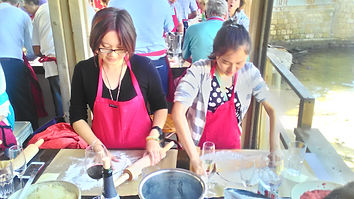 אירוח משלחת מסין עבור קרן הון סיכון- סדנת בישול בנמל קיסריה