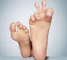 Prenez soin de vos pieds!