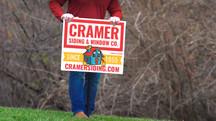 CRAMER YARD SIGN