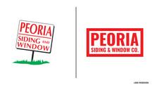 PEORIA SIDING & WINDOW LOGO