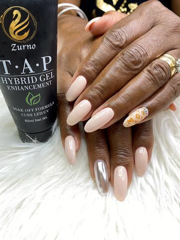Hybrid Nails w/Gel Polish