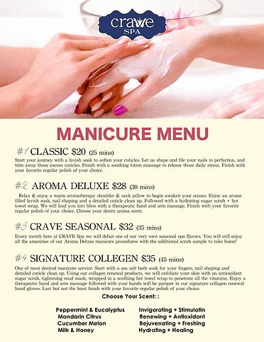 Crave Spa Menu Page 3- Manicure Menu.png