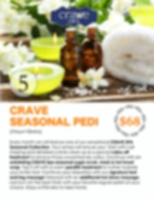 Crave Spa Menu Page 8- CRAVE SPA SEASONA