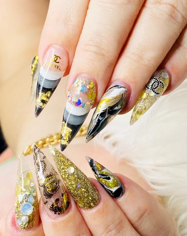 Custom Hybrid Gel Nails