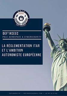 PDG La réglementation ITAR et l'ambition