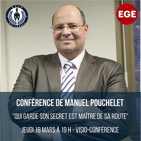 Conférence de Manuel Pouchelet