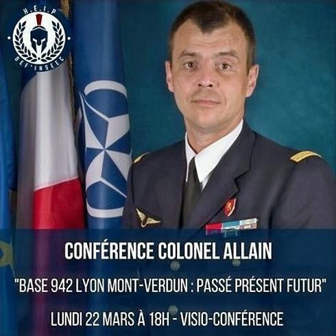 Conférence du Colonel Allain
