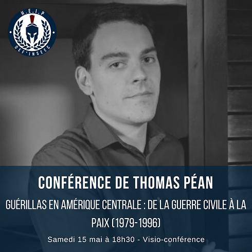 Conférence de Thomas Péan