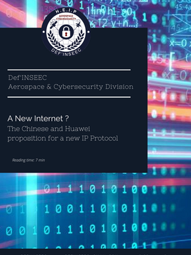 Article : A new internet ? The Chinese and Huawei proposition for a new IP Protocol.