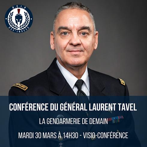 Conférence du Général Laurent Tavel