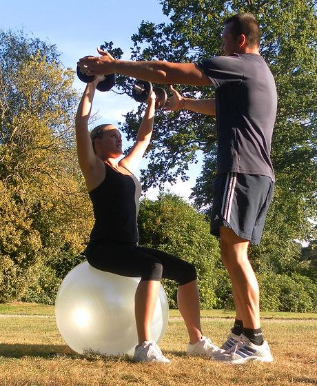 Swiss ball training Tunbridge Wells