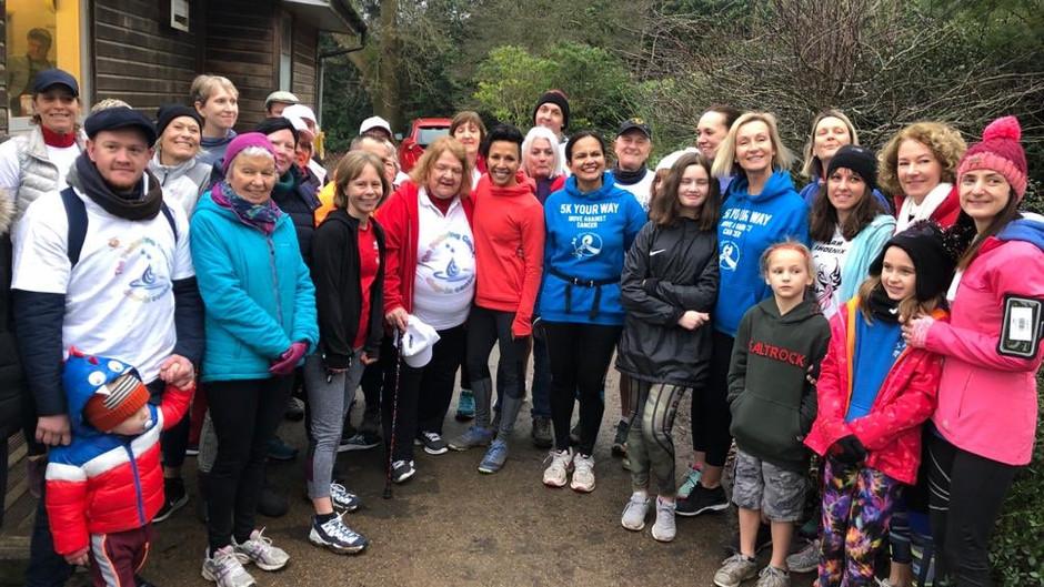 5k Your Way, Move Against Cancer Park Run Tunbridge Wells