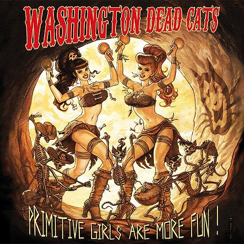 Primitive girls are more fun CD