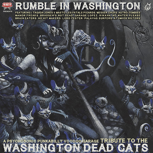 Rumble in Washington - Tribute to W.D.C - CD
