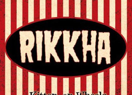 """VINYL > RIKKHA """"Kitten on wheels _ RED VINYL 25cm/10 inch"""