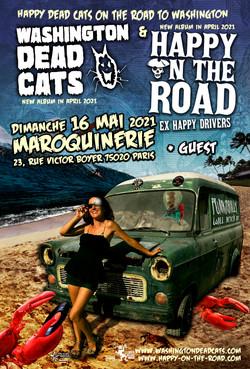 40X60 happy dead cats Maroquinerie WEB