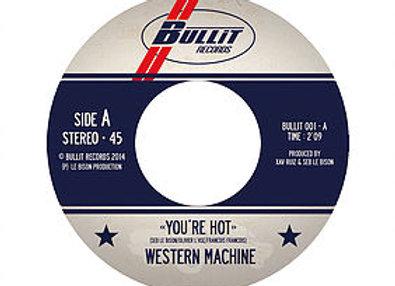 """7"""" inch/45T  WESTERN MACHINE vinyl"""