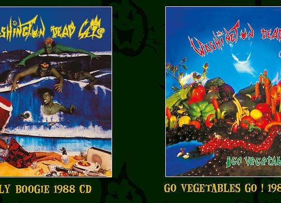 "2 CD > Go vegetables go ! "" et ""Gore'a'billy bogie !"""