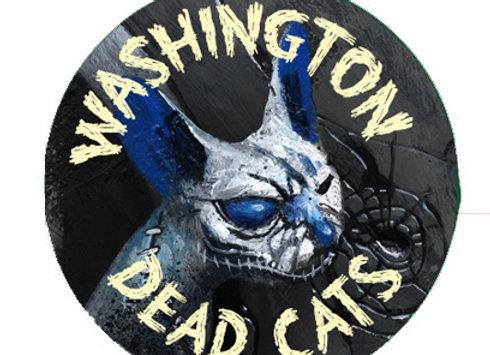 Badge rumble dead cat / 32mm