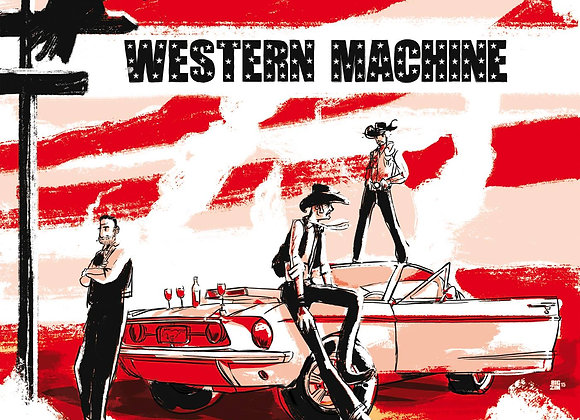 CD - WESTERN MACHINE - From Lafayette to Sin city