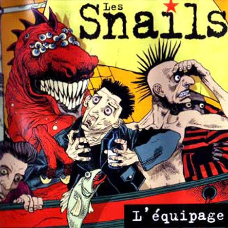 """Les Snails """"L'équipage"""""""