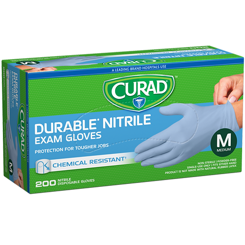 200 Medium Nitrile Exam Gloves