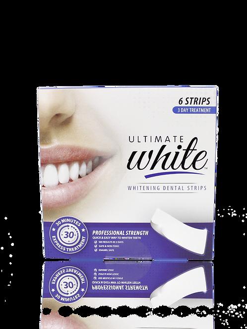 Ultimate White Teeth Whitening Strips
