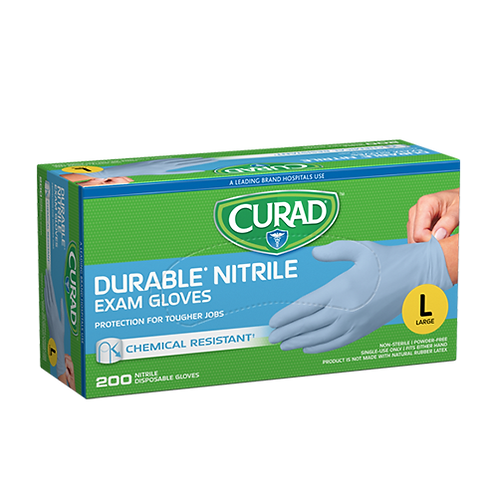 200 Large Nitrile Exam Gloves