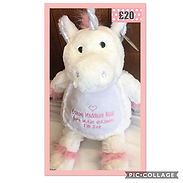 🦄Personalised unicorns 🦄 A gift to tre