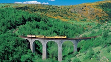 Le train jaune, symbole du Pays Catalan