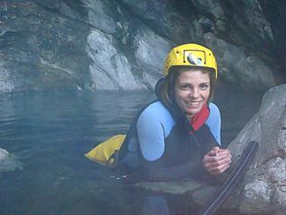 Canyoning en eaux chaudes thermales