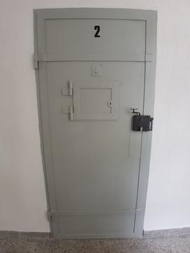 Die Zellentüre