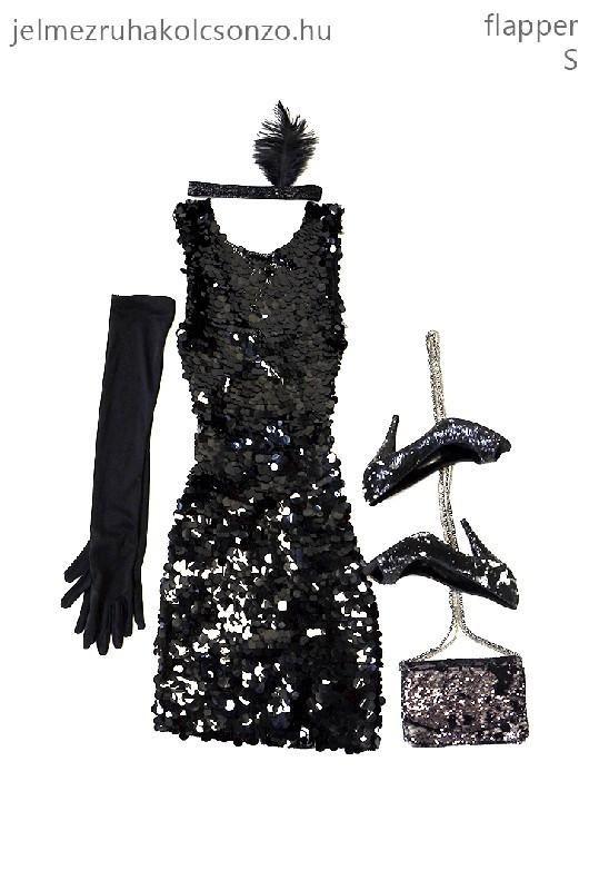 Flitteres flapper ruha (GN018)