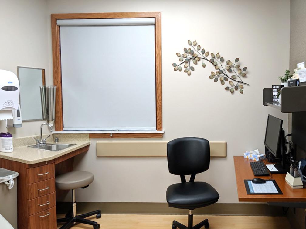 Clinic exam room