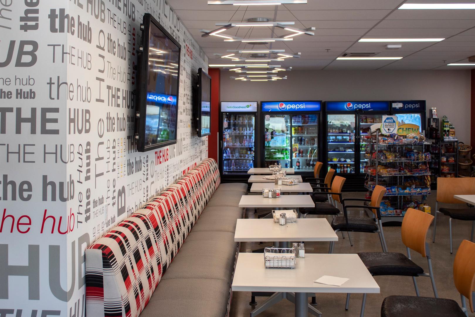 Diogi-Key Fargo Cafeteria Custom Wall Graphics