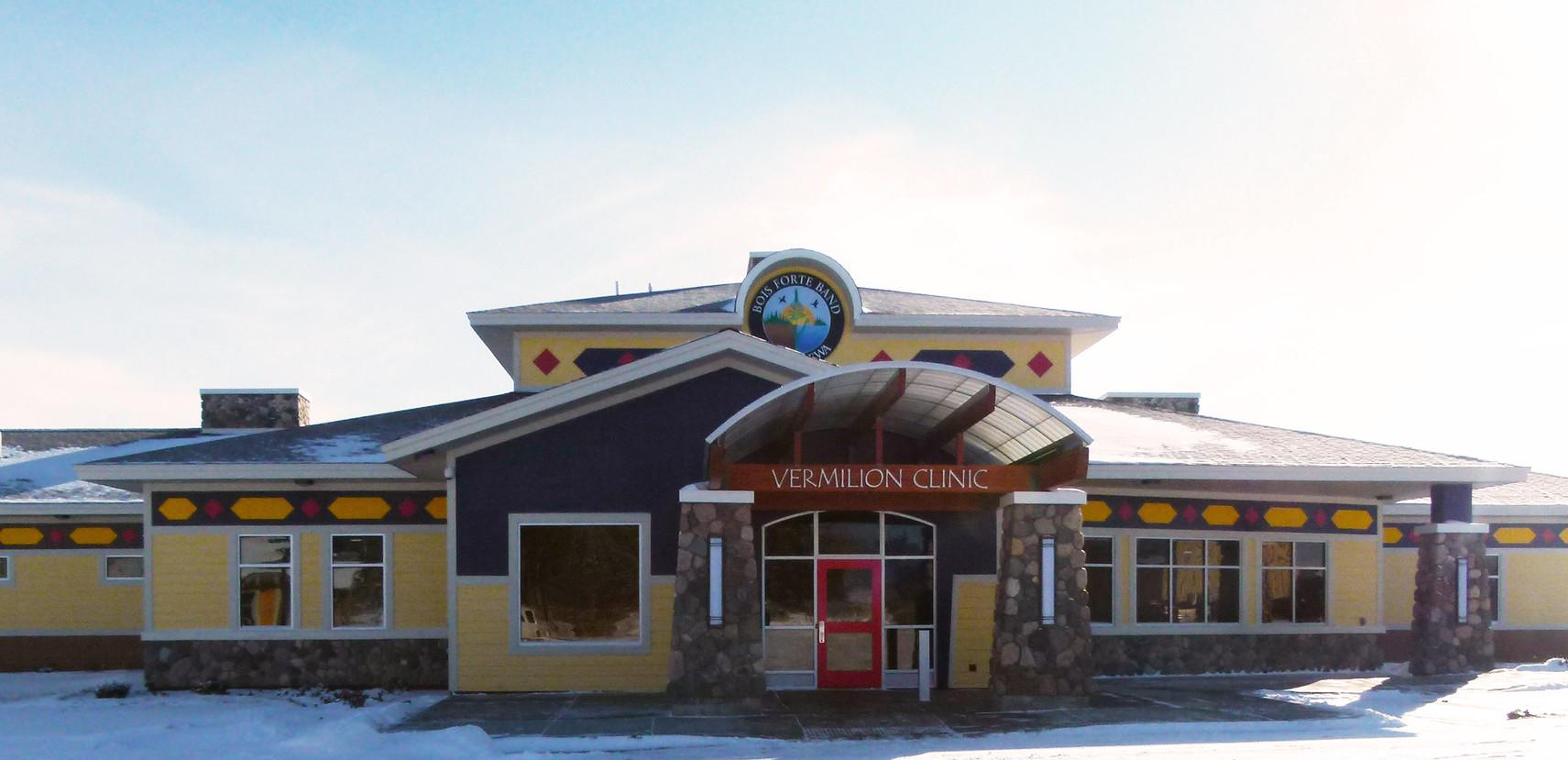 Vermilion Clinic Exterior Entrance