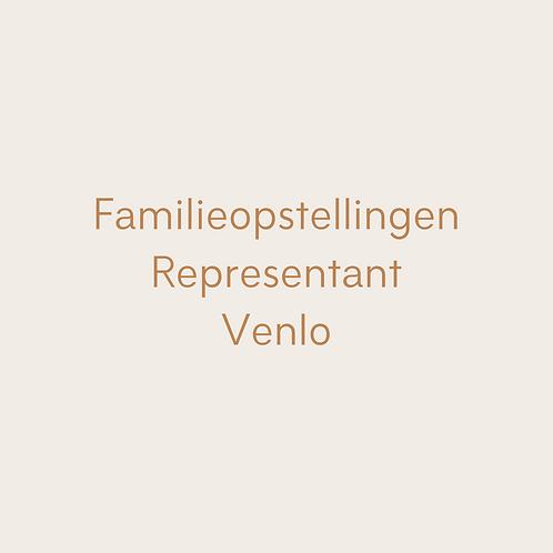 1-daagse familieopstelling representant Venlo (18 april)