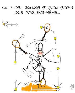 mam zic dessin tennis