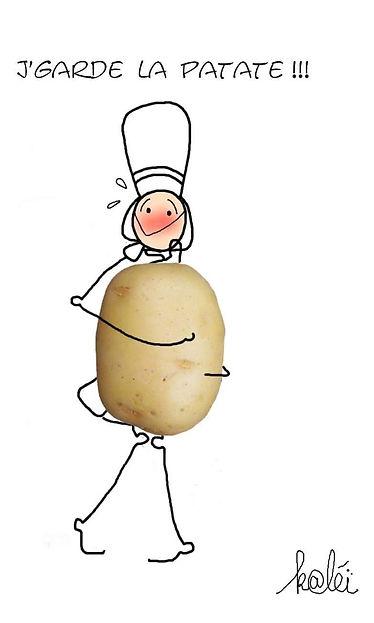 mam zic dessin patate