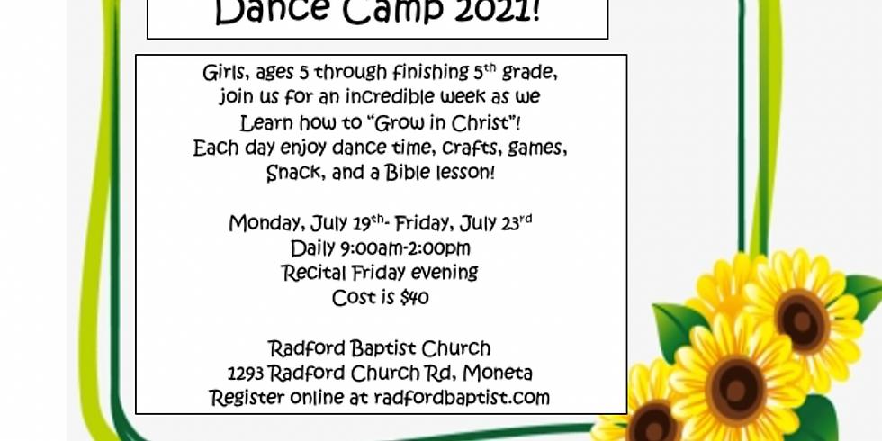 Dance Camp 2021