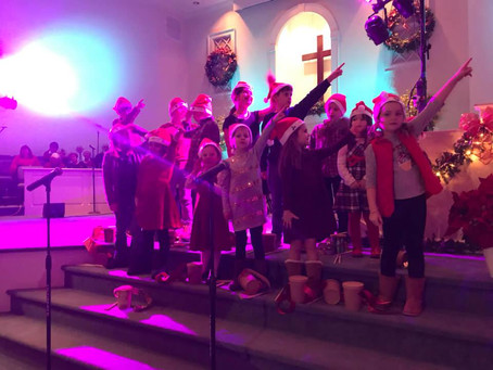 Radford Baptist 2018 Christmas Program