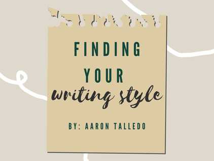 Finding Your Writing Style