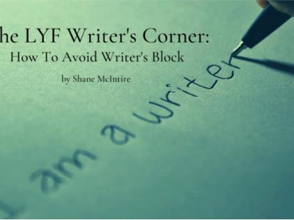 The LYF Writer's Corner : Writer's Block
